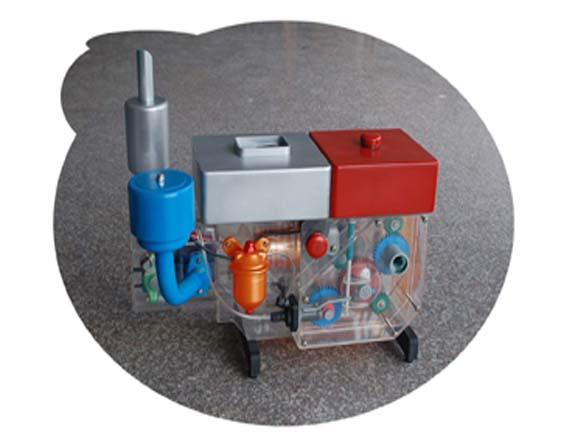 拖拉机 发动机总成 模型图片