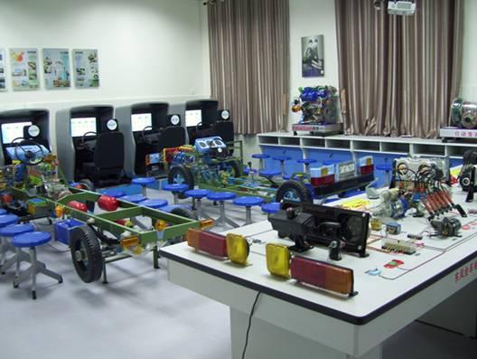 汽车驾驶与保养选修模块配置方案--驾校自考型电子桩考仪