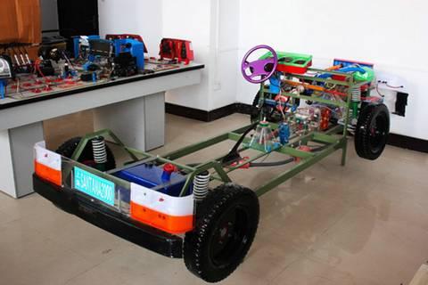 桑塔纳2000型轿车透明整车模型-三类驾校验收所需设备,三类驾校图片