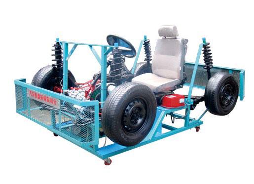 底盘构造系统,充分展示汽车变速器与传动系统的各个机械结构高清图片