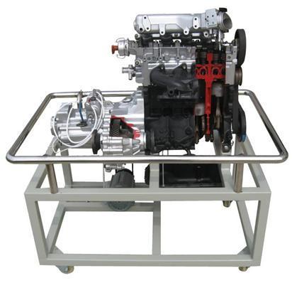 电喷发动机解剖模型