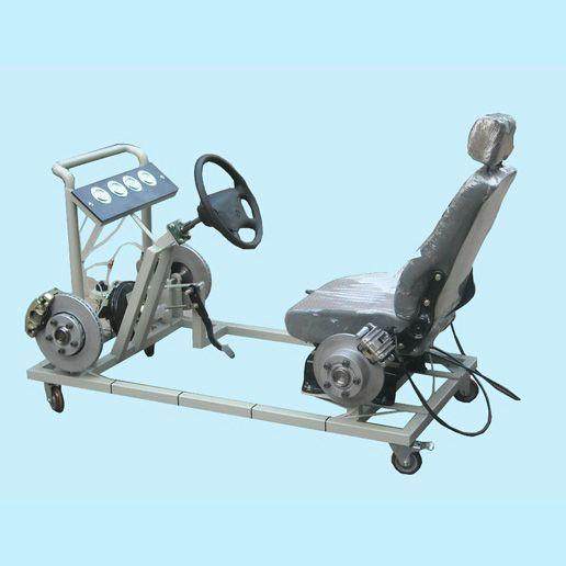 汽车教学设备,液压制动系统实训台 驾驶模拟器 汽车驾驶模拟高清图片
