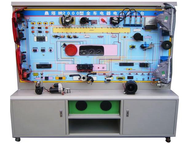 汽车教学设备,jy f 01桑塔纳2000全车电器电路试验台 高清图片