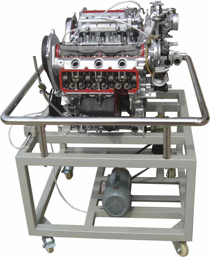 汽车电喷发动机工作原理高清图片