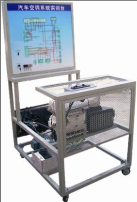 5.空调电路系统配有专门故障设置区,可供学生学习或考核.  6.