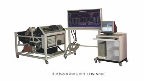 设备的构成:桑塔纳 2000 发动机实验台架    桑塔纳 2000 发动机