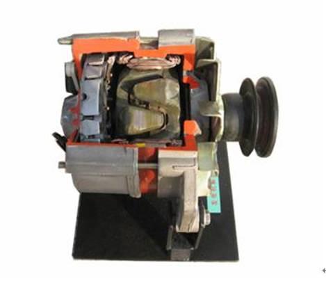 上海嘉育汽车空调压缩机解剖模型