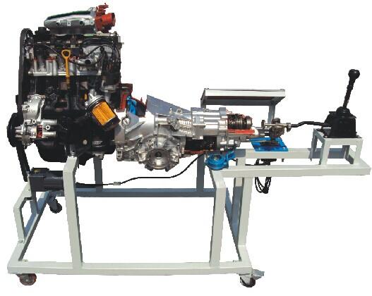 桑塔纳2000发动机变速器解剖运行台