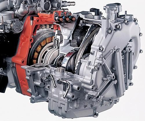 新能源汽车教学设备,混合动力汽车整车解剖模型